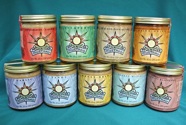 Nunda Mustard - 9 wonderful flavors
